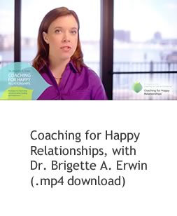 Coaching for Happy Relationships, with Dr. Brigette A. Erwin